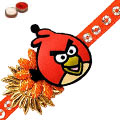 One Angry Bird Rakhi with Roli and Chawal