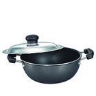 Delightful Prestige Omega Select Plus Flat Base Kadai 200 mm