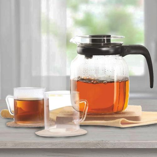 Mesmerizing Borosil Classic Tea Set