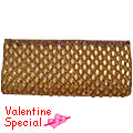 Send Classy Golden Evening Clutch to Kerala