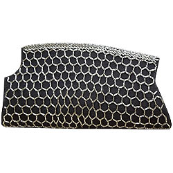 Deliver Black Clutch from Spice Art