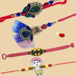 Attractive Rakhi Set