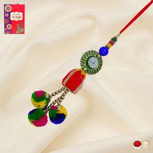 Alluring Lumba Rakhi