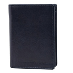 Exclusive Gents Leather Coat Wallet in Black from Urban Forest