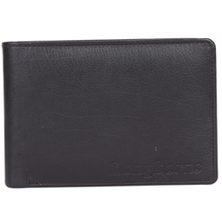 Elegant Black Coloured Gents Wallet from Longhorn