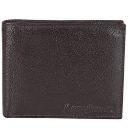 Outstanding Brown Coloured Longhorn Gents Wallet of Leather