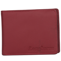 Gaudy Gents Leather Wallet from Longhorn in Brown