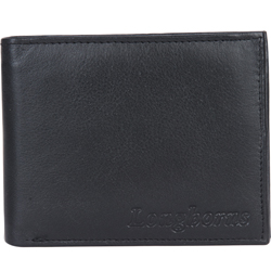 Amazingly Designed Gents Leather Wallet from Longhorn in Black