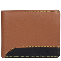 Classic Gents Leather Wallet in Brown from Longhorn