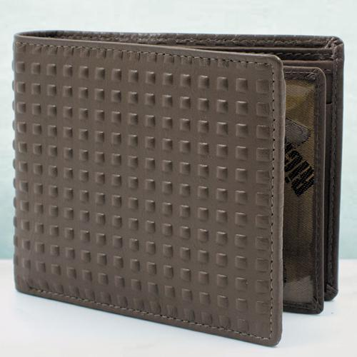 Eye-Catching Brown Leather Wallet for Men