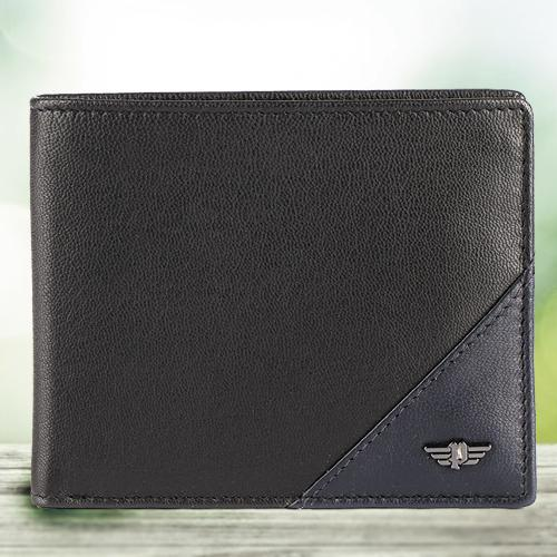 Marvelous Black Gents Leather Wallet from Police