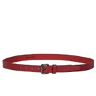 Classic Titan Fastrack Red Leather Belt for Ladies