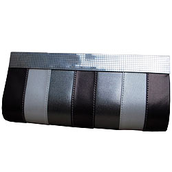Shop for Silver Ladies Clutch from Spice Art