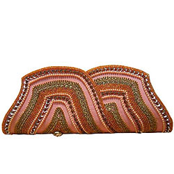 Amazing Spice Art Multicolored Ladies Purse with Awesome Decoration