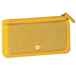 Beautiful Signature Spice Modern Yellow Wallet Presented by Avon
