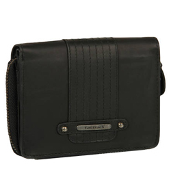 Suave Titan Fastrack Collection of Black Colored Women's Wallet