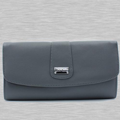 Stunning Grey Color Womens Handbag