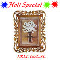 Send Fantastic Photo Frame Gifts with free Gulal/Abir Pouch to Kerala