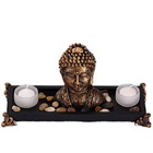 Candle Stand with Buddha