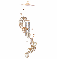 Heart Shaped Wind Chime