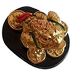 Sacred Feng Shui Three Legged Money Frog