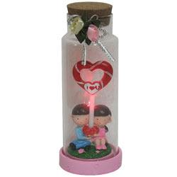 Order Jar of Heart Shaped Lollipop