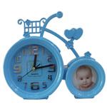 Home Decor Clock with Photo-Frame Set