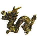 Sacred Golden Feng-Shui Dragon