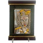 Vintage Lord Krishna Wall Key Holder