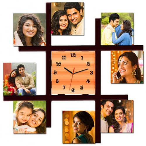 Buy Personalized Photo Wall Clock