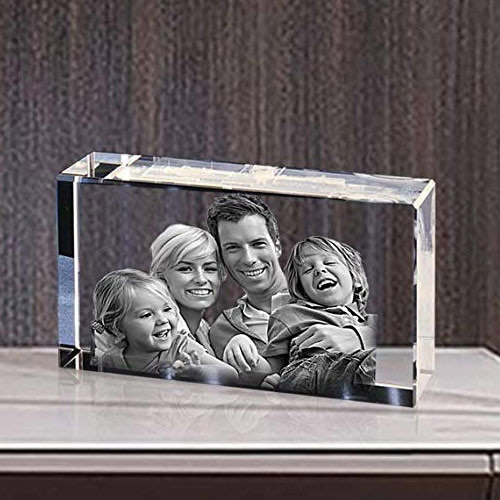 Online Personalized Rectangular Glass Paper Weight