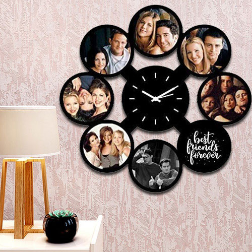 Online Personalized Photo Wall Clock