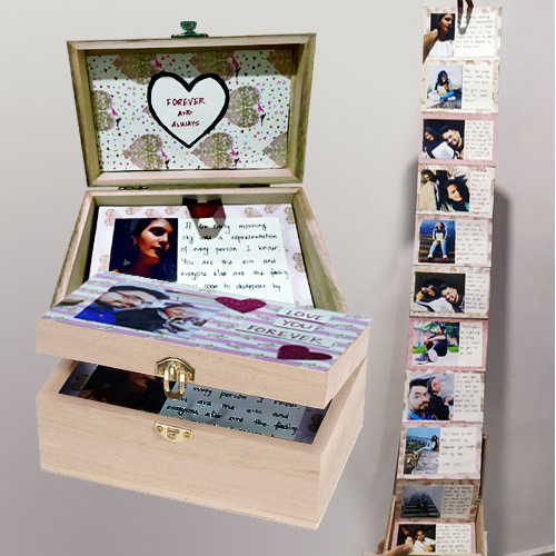 Online Infinity Box of Personalized Message n Photos