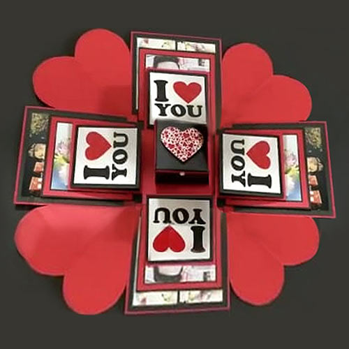 Appealing Messages n Picture Cards 3 Layer Explosion Box