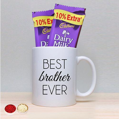 Coffee Mug with Twin Cadbury