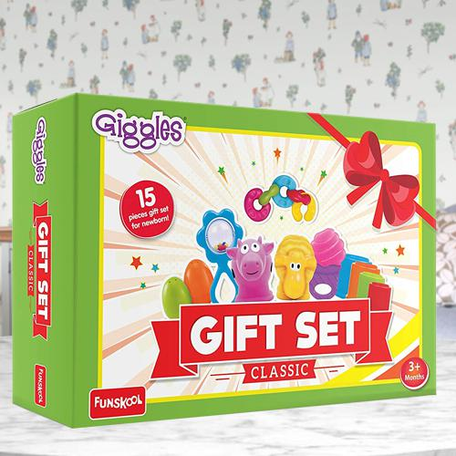 Wonderful Funskool Giggles Baby Gift Set