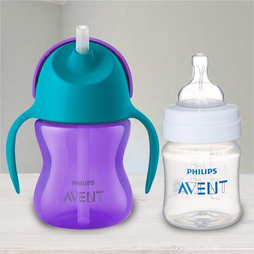 Amazing Philips Avent Straw Cup N Anti Colic Bottle