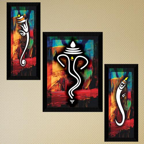 Wonderful Ganesha Modern Art for Home Decor