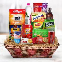Delightful Holiday Treats Breakfast Gift Basket