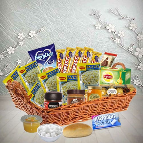 Send English Style Lunch Basket