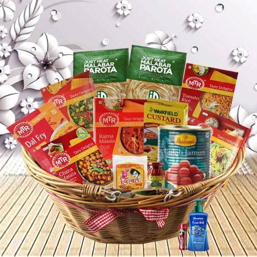 Healthy and Nutritional North Indian Dinner Basket