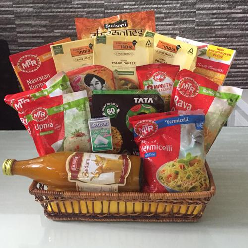 Exciting Zesty Items Indian Dinner Gift Hamper