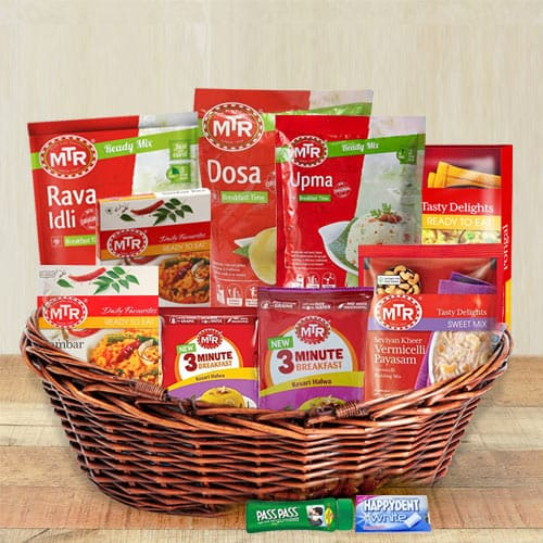 Rich Goodness South Indian Dinner Items Hamper