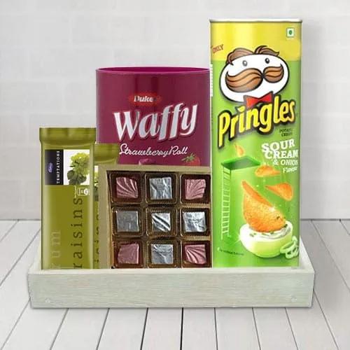 Chocolaty Treat Gift Basket for Him