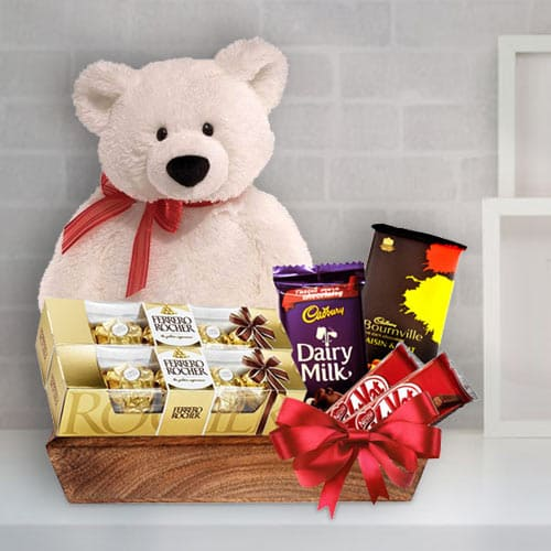 Santa Special Chocolate Gift Basket<br>