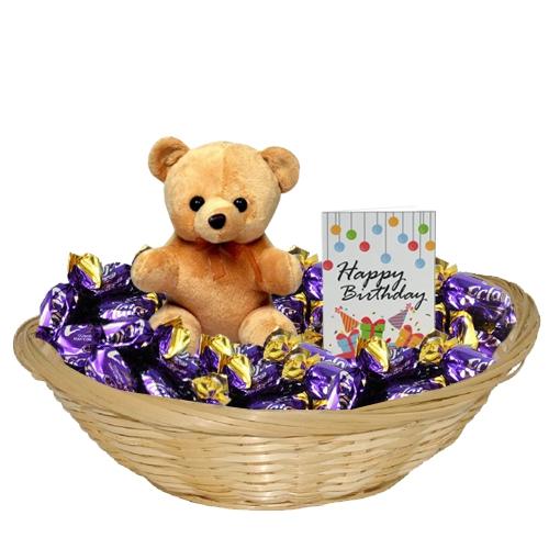 Ravishing Choco Lovers Gift Basket<br>