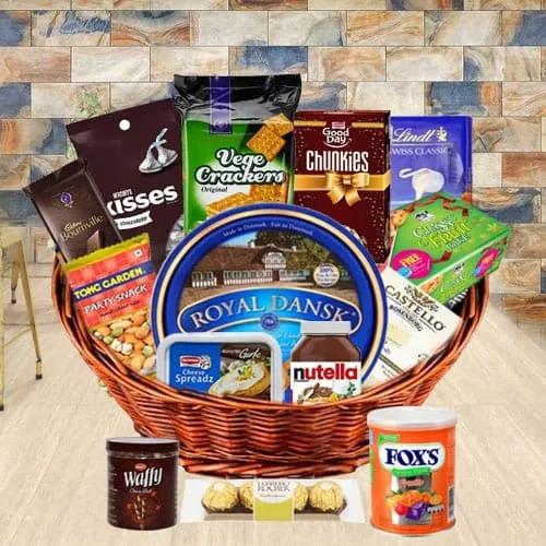 Deliver Gourmet Gift Basket for Dad
