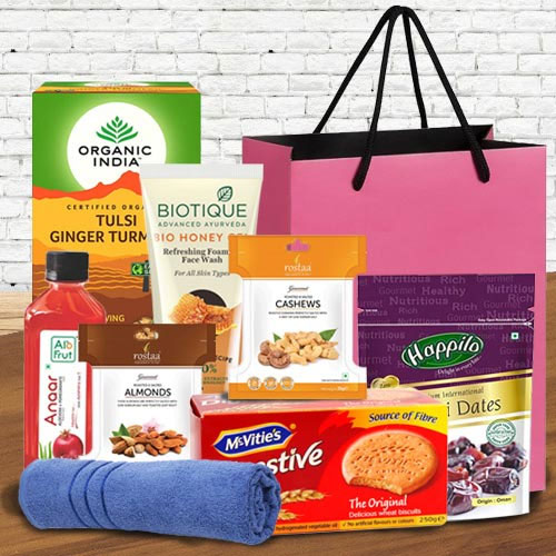 Cool Good Morning Hamper to wish Mothers Day
