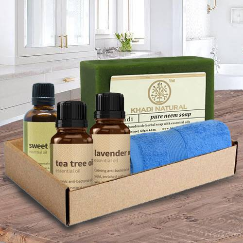 Wonderful Essential Oil Healing Gift Combo for Mummy