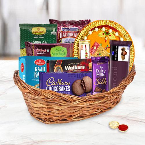 Celebration Gifts Basket for Family